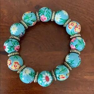 Blue Angela Moore Bracelet